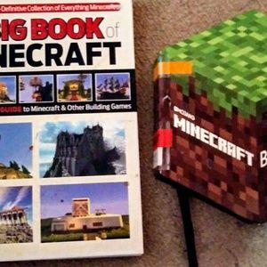 2 Minecraft Books Great Condition! *! *!